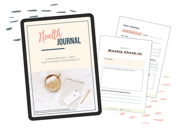 Health Journal - Ernährungstagebuch für deine Ernährungsumstellung