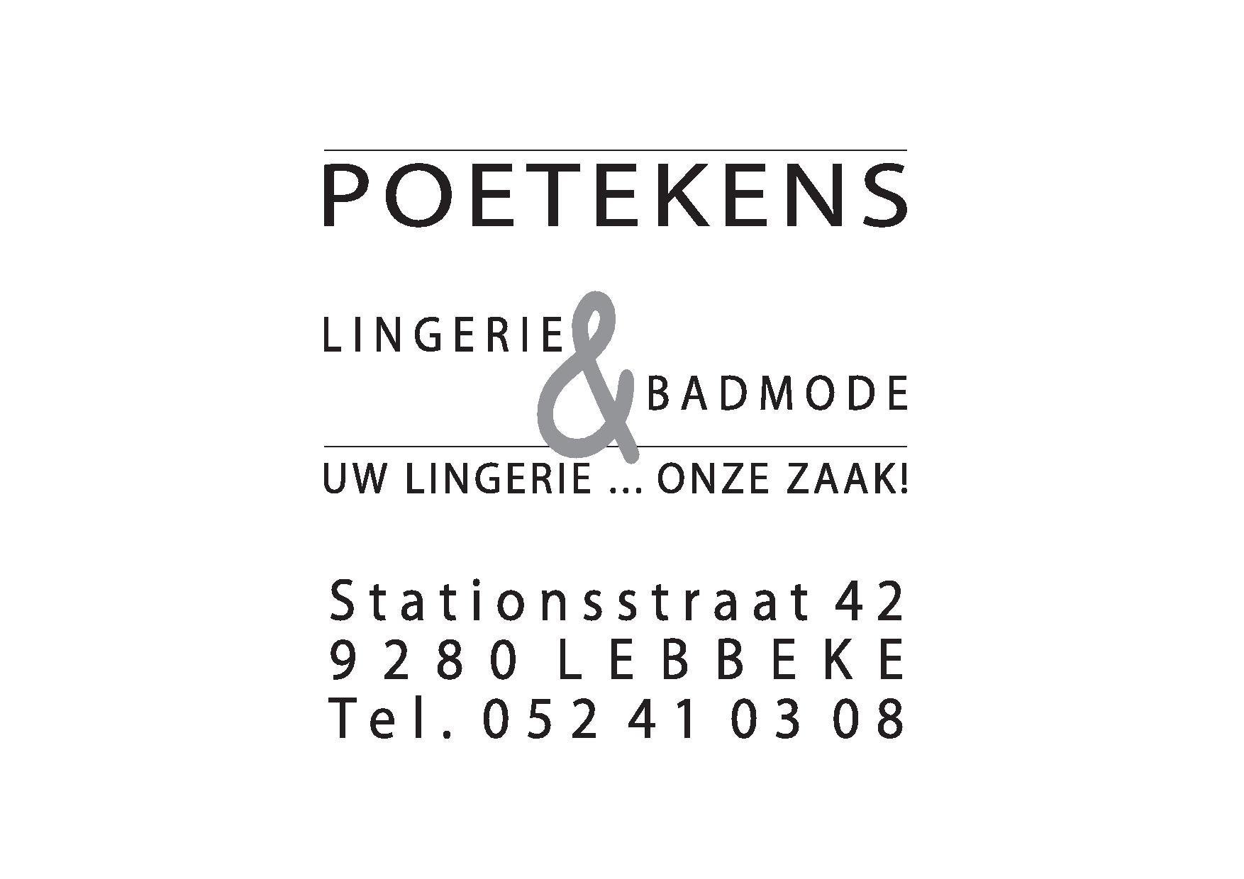 POETEKENS Lingerie & Badmode logo