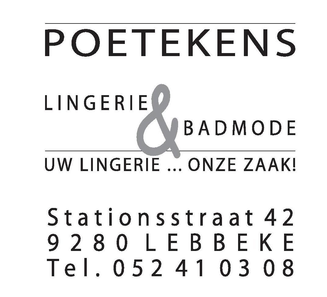 POETEKENS Lingerie & Badmode