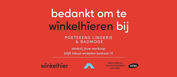 Poetekens Lingerie & Badmode - Winkelhie