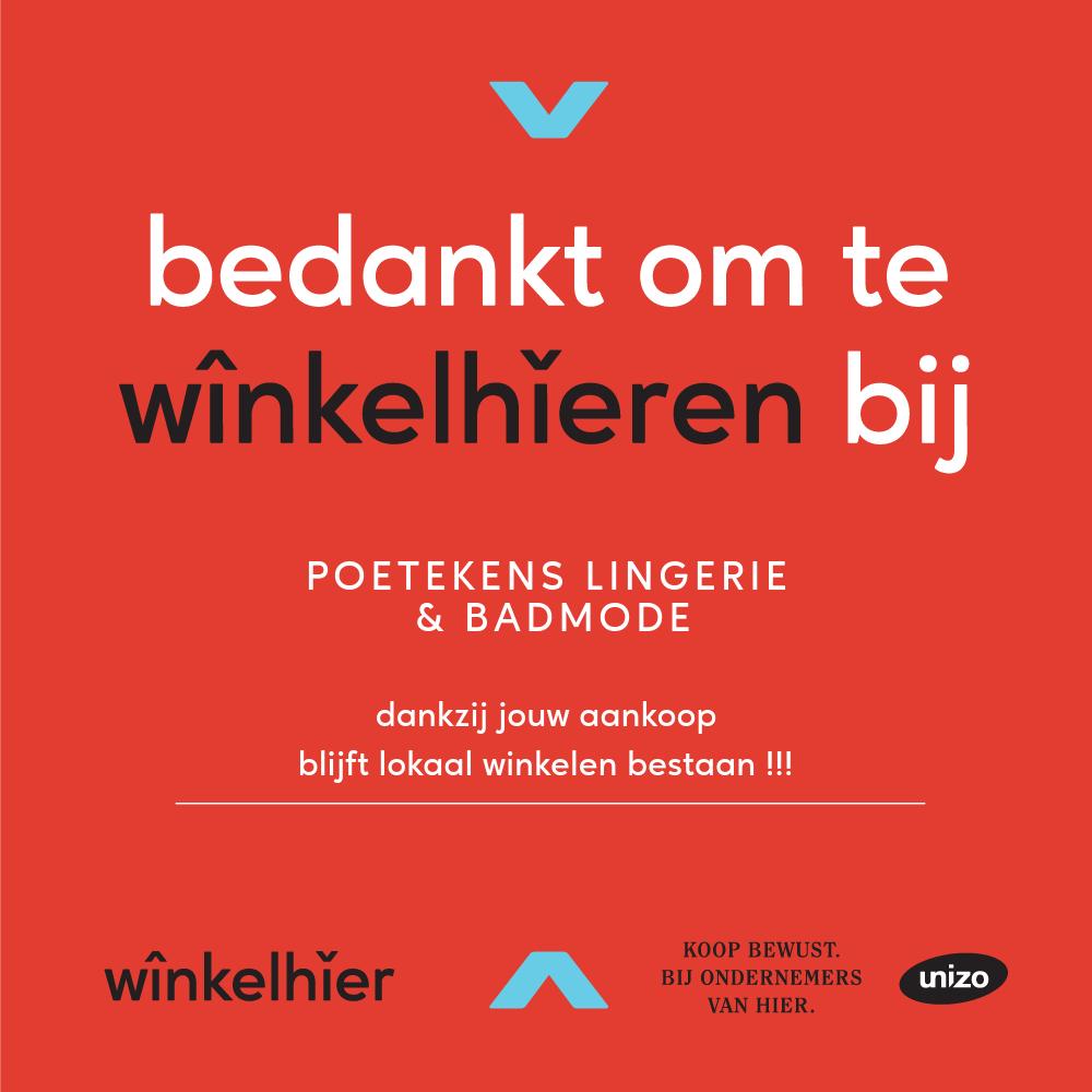 Poetekens Lingerie - Winkelhieren !