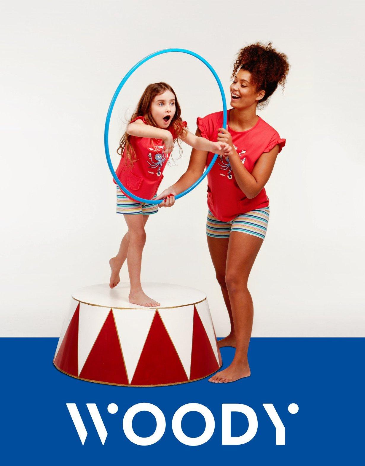 Woody voor dames, heren en kinderen