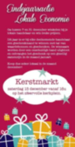 POETEKENS eindejaarsaktie en kerstmarkt.