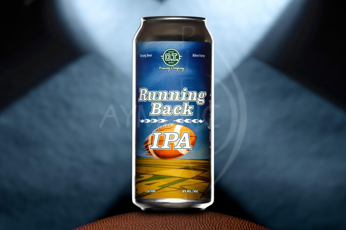 OT Brewing company Running Back