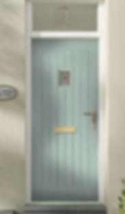 Porland 3 Rustic Composite Door Classic.