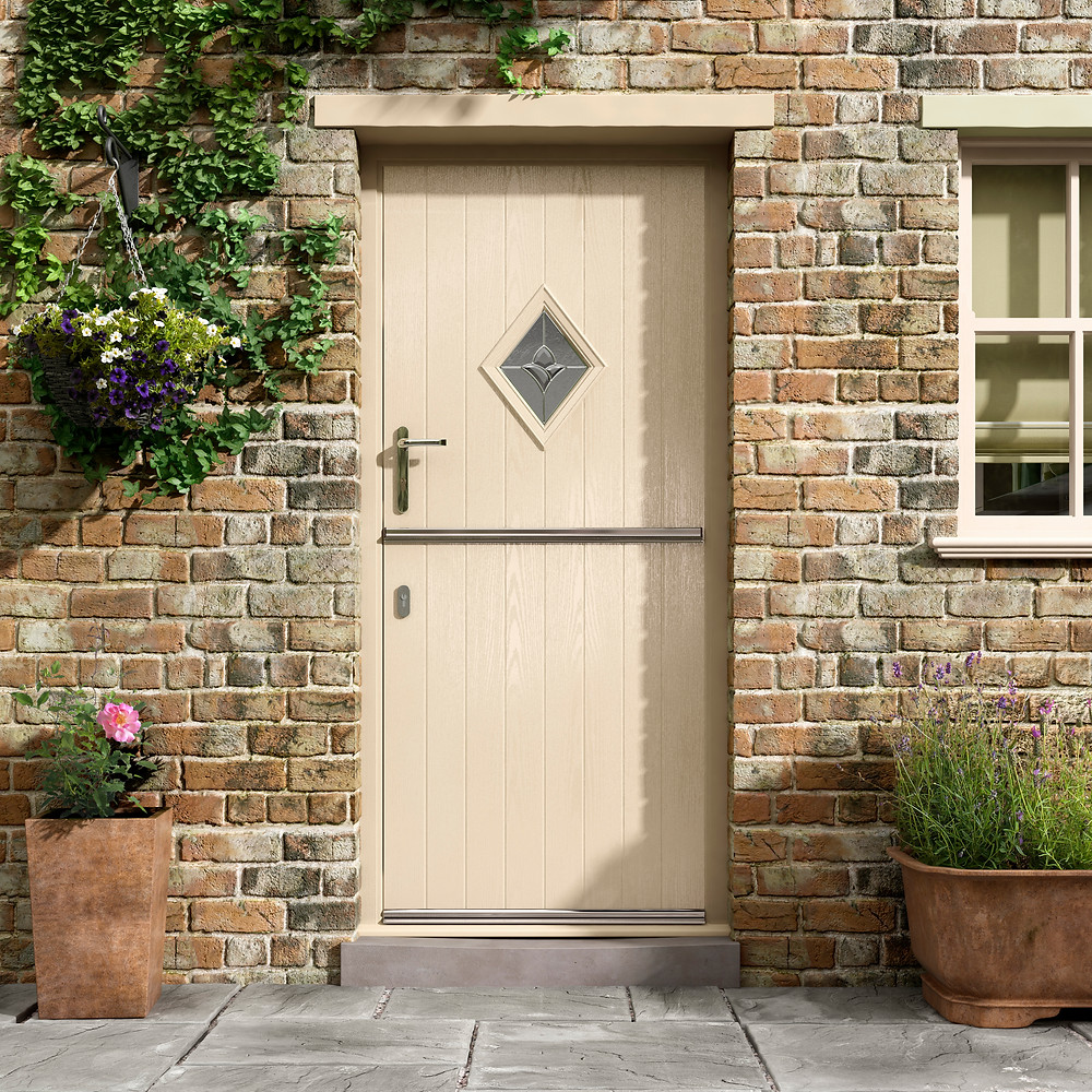 Portland 2 Stable Composite Door