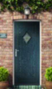 Portland 2 Rustic Composite Door Classic