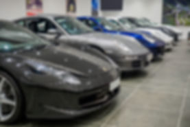 Car sales showroom at Autostore