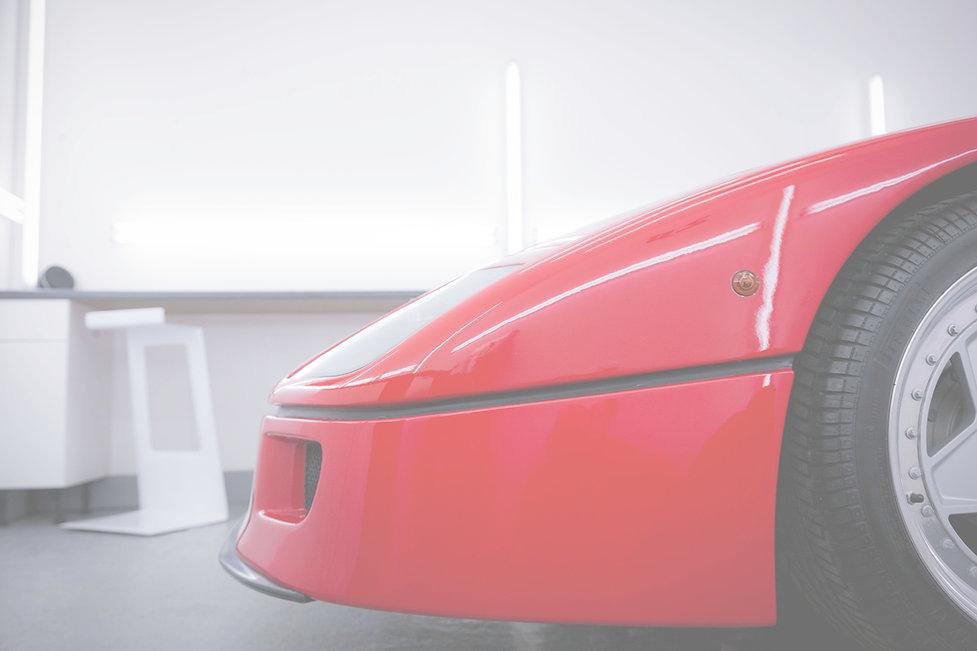 Ferrari F40 Full Wrap PPF