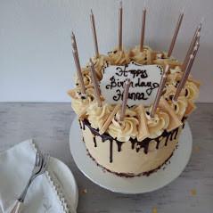 Caramac layer cake
