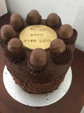 Nutella Layer Cake