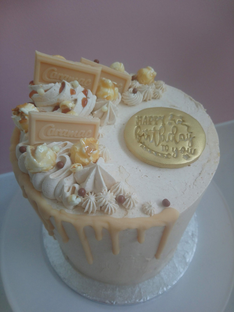 Caramac Layer Cake