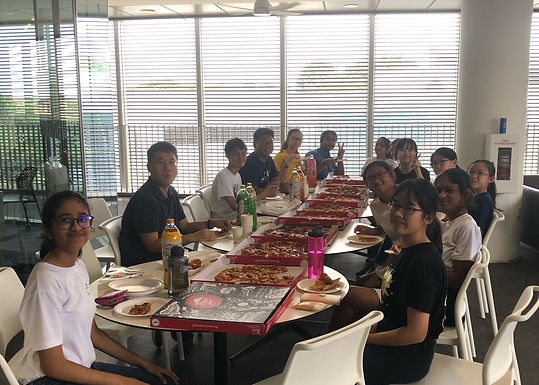 We are happy to host the students from NRP research program at NTU!