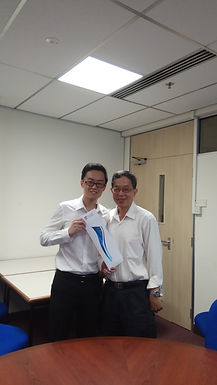 Congratulations Wei Long on defending his thesis successfully today! Well done, Dr. Ng!