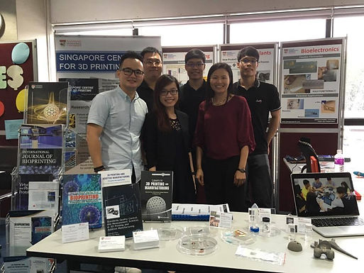 Our team was featured at the HSA Science and Innovation Day 2017!