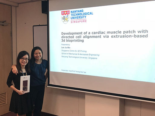 A round of applause for Jia Min for successfully defending her thesis today! Congratulations for the great work, Dr Lee!