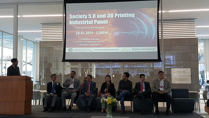 Prof. Yeong gave Public Seminar at Tecnológico de Monterrey, Mexico
