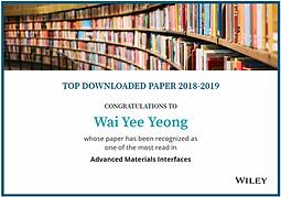 Top downloaded paper in 2018-2019