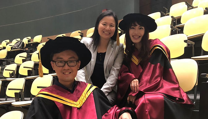 Congrats! Dr Ng and Dr Lee!