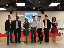 Prof Yeong gave a talk on AM for marine and offshore industry