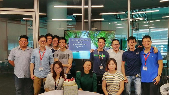 All the best for Joel in your next endeavour!