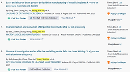 The latest round of high cited papers for May/June 2018 at Web of Science