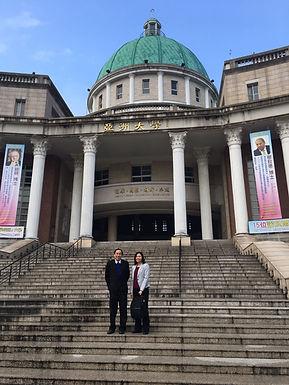 Prof Yeong's visit to Asia University Taiwan
