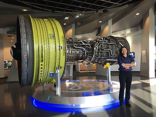 Prof Yeong visited GE aviation and GE additive manufacturing at Cincinnati , Ohio, USA