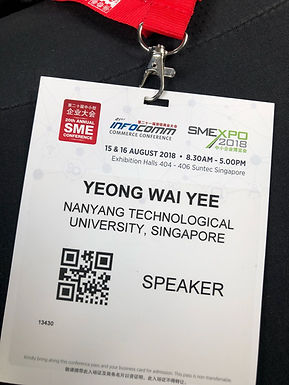 Invited talk at the 20th Annual SME Conference