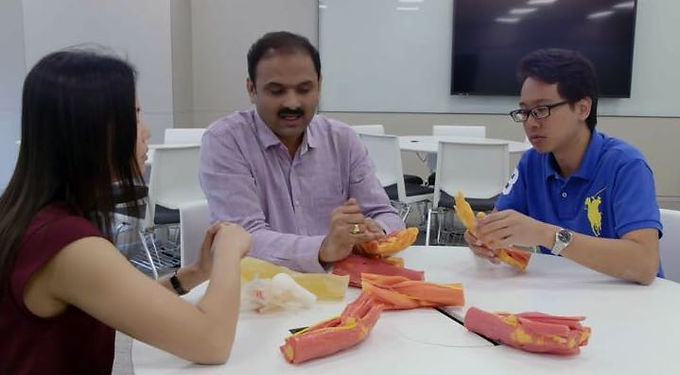 Channels News Asia (CNA) showcased our 3D printed multi-material biomodel technology!