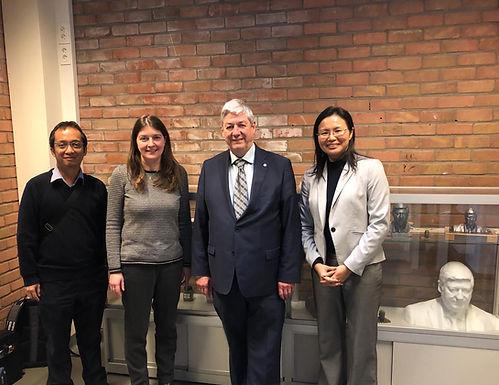 Invited talk at KU Leuven by Prof Yeong
