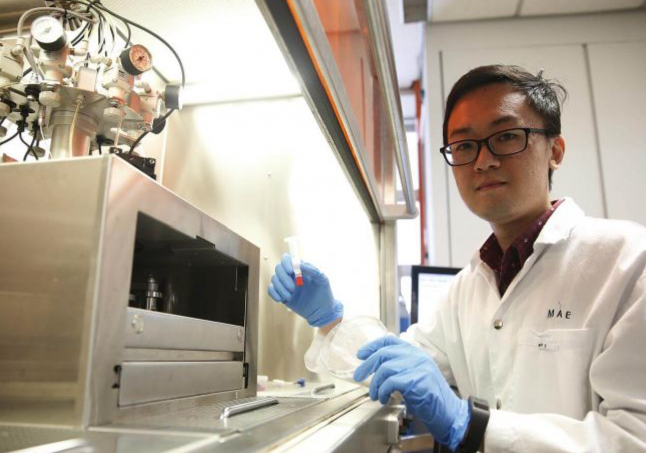 The Straits Times featured our bioprinting technology of pigmented skin.
