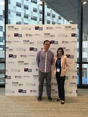 Our team presented at FutureHealth 2017 on 10 NOV 2017