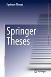Swee Leong's thesis has been selected for the Springer Theses Award!