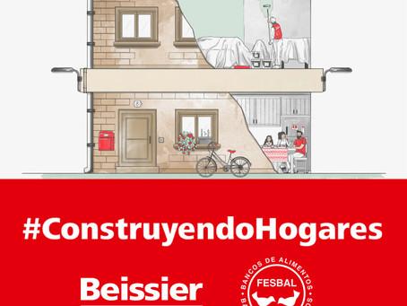 Exitosa campaña #Construyendohogares de Beissier a favor de los Bancos de Alimentos