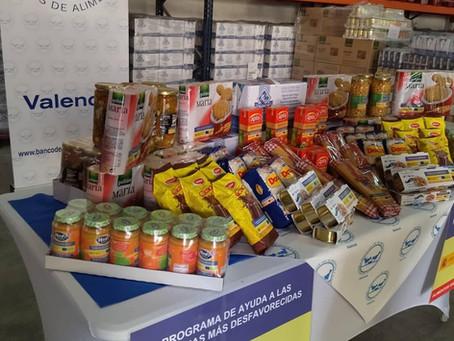 Ha iniciado la segunda fase del programa 2021 de ayuda alimentaria a las personas más desfavorecidas
