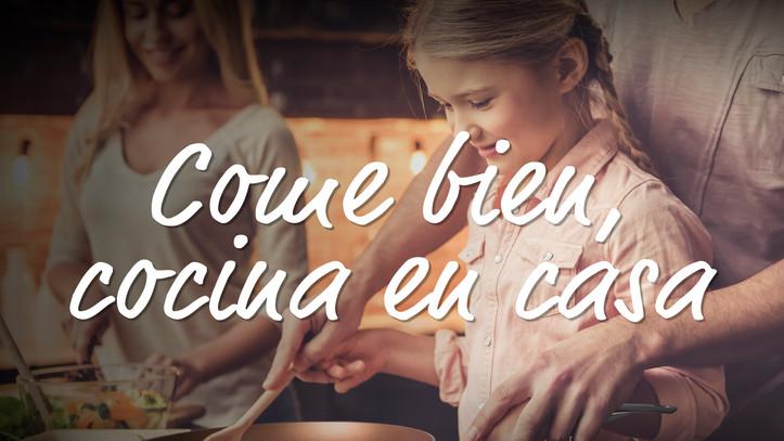 """Percutti lanza la campaña """"Come Bien, Cocina en casa"""" para ayudar a los Bancos de Alimentos"""
