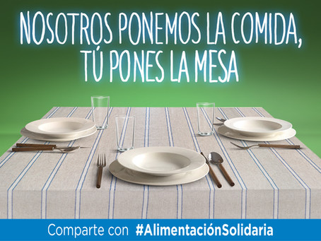 Fundación Alimentum conmemora el 8 de junio con una campaña viral a favor de los Bancos de Alimentos