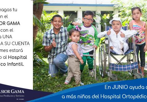 En el mes de Junio ayuda a sonreír a más niños con UNA SONRISA A SU CUENTA