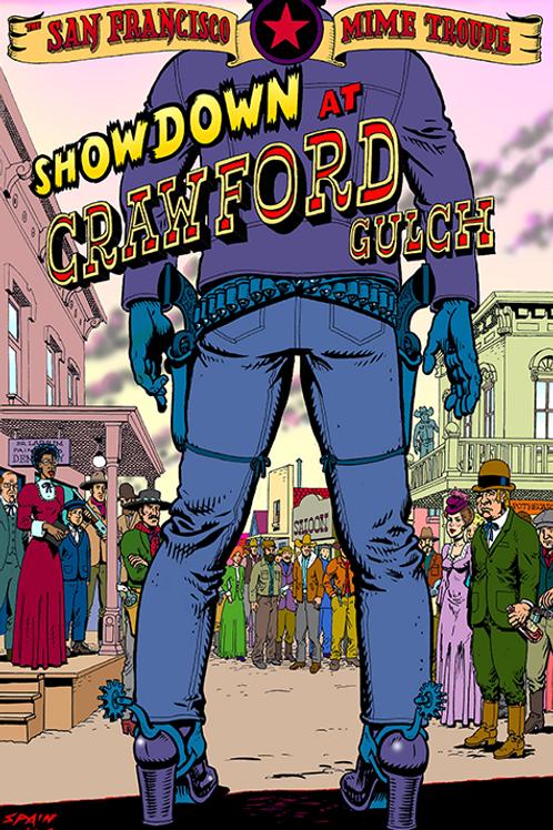 Showdown at Crawford Gulch - OVERSIZED