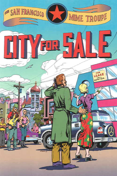 City for Sale - MINI POSTER