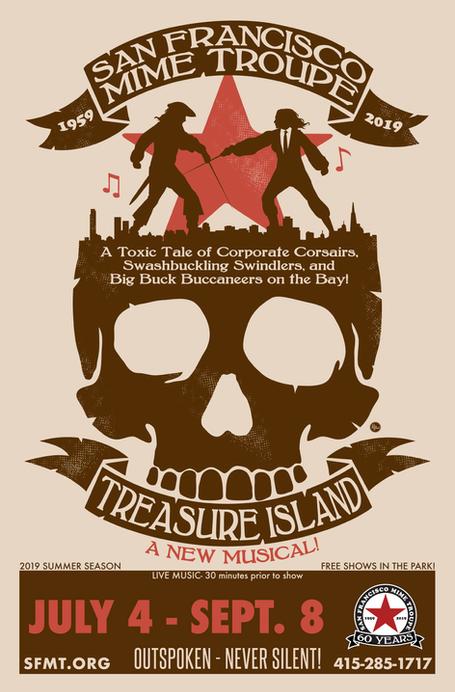 Poster - Treasure Island!