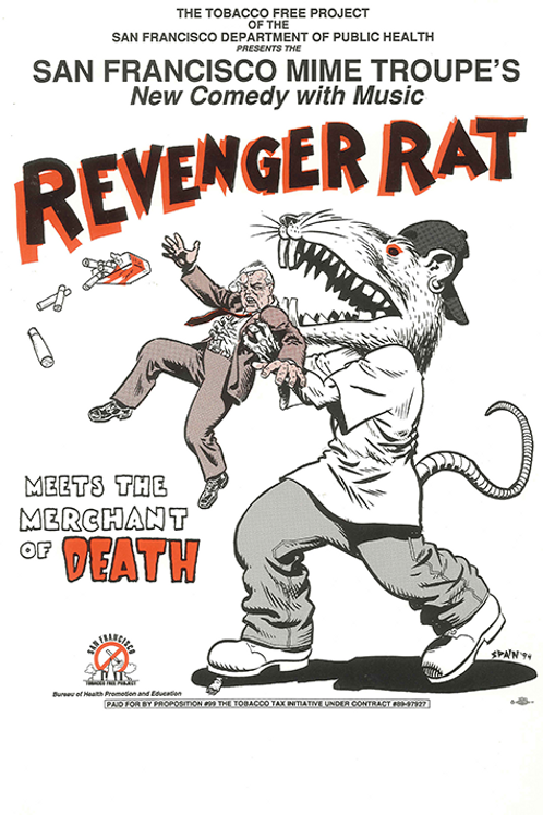 Revenger Rat Meets the Merchant of Death