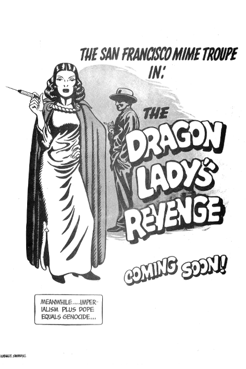 The Dragon Lady's Revenge (Black & White)