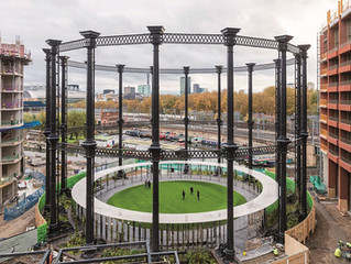 Gas Holder Completed