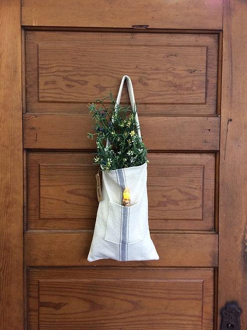 Grain Sack Candle Bag