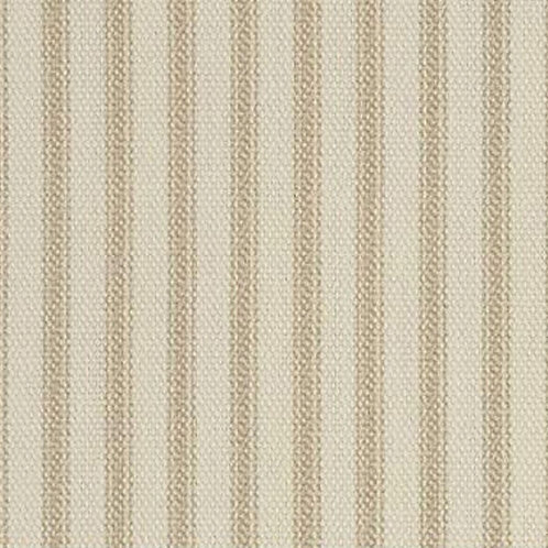 "54"" Wide Tan Ticking Fabric  