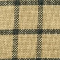 Green/Cream Checkered Homespun Fabric - Lightweight