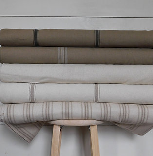 """Grain Sack Fabric BY THE YARD 