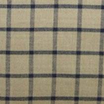 Black/Cream Checkered Homespun Fabric - Lightweight